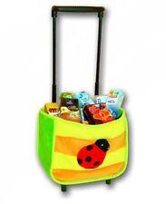 Kinder Einkaufstrolley mit Kaufladen Zubehör - Einkaufswagen Kaufmannsladen Set