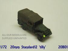 wargames vehicle. 20mm 1/72 scale Standard 12 utility car  WW2 British (001)