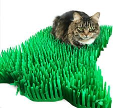 Cat or Kitten toy Tissue Paper Grass Mat Interactive UK FAST DELIVERY pet toys
