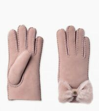 BNWT UGG W SHEEPSKIN GLOVES, DUSTY PINK