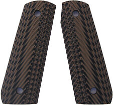 Ruger 22/45 Grips Spec Ops G10 by LOK Grips Brown/Black