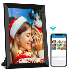 Digital Photo Frame WiFi Cloud Share Picture Video Instantly Touch Screen 16GB