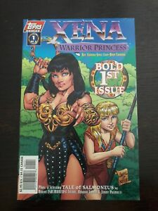 Vintage Xena Warrior Princess Bold 1st Issue Topps Gabrielle Hercules Comic Book