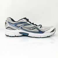 Saucony Mens Cohesion 7 25181-2 Silver White Running Shoes Lace Up Size 10.5