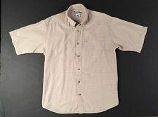 Men's Plaid Short Sleeve Shirt By Columbia Sports Wear - Size Large