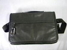 Men's Wilson Leather Black M Julian Messenger Laptop Briefcase Satchel Bag