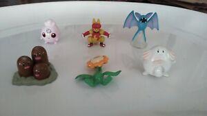 Pokemon Figures  Lot of 6                                  Group 2