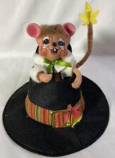 """RARE Annalee Thanksgiving Harvest Pilgrim Hat Centerpiece ~ 6"""""""