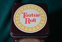 Vintage 1992 Tootsie Roll Candy Tin Limited edition Empty 7 X 4 3/8 X 4 3/8 in.