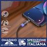 cavo di ricarica magnetico iphone android Lightning MICRO USB UNIVERSALE 🇮🇹