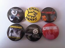6 Lemonheads Pin Button badges 25mm The Replacements Luka Buddy Into Your Arms