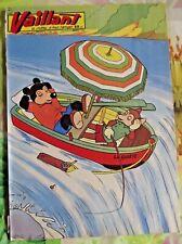VAILLANT N°630 1957 Placid Muzo et Pif Sieste et pêche au chute du Niagara