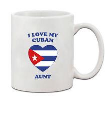 I love my CUBAN Aunt Ceramic Coffee Tea Mug Cup