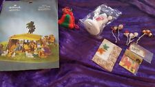 Hallmark Christmas Decoration Nativity 11 Inches Tall - Vintage Out Of Print Lot