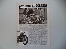 advertising Pubblicità 1973 MOTO GILERA 125/150 ARCORE