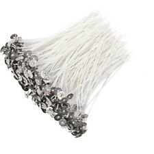 Pre Waxed Candle Wicks with Sustainers Long Tabbed for Candle Making 150mm
