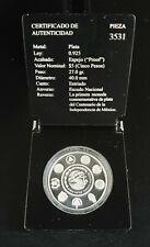 2010 Mexico 5 Peso Ibero-American Historical Coin Series VIII COA Case