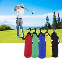 Neoprene Golf Balls Tees Holder Carrier Clip Carry Bag Pouch Waist Belt Bag - UK