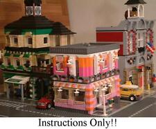 GET 100+ CUSTOM LEGO INSTRUCTIONS like MODULAR DONUT SHOP for 10185 Green Grocer