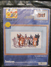 Janlynn Counted Cross Stitch Tails of Duckport Kitten Cat Kitty Suzy's Zoo Pet