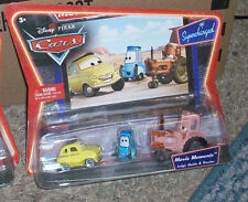 DISNEY PIXAR CARS MOVIE MOMENTS 3 PACK LUIGI GUIDO & TRACTOR SUPERCHARGED