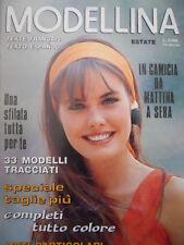 MODELLINA n°89 1996  - con cartamodelli  [M8]