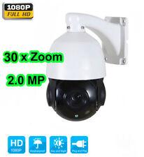 30X Zoom 1080P 2.0 MP Outdoor PTZ Geschwindigkeit Kuppel Kamera IR Nacht CMOS