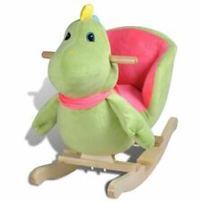 vidaXL Rocking Animal Dinosaur Kids/toddler Ride on Toy Plush/wood Rocker Chair