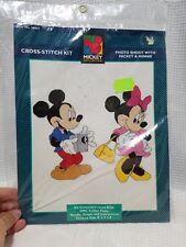 MICKEY UNLIMITED Cross Stitch kit 36007 Disney minnie photo photography new