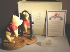 """Disney Pooh & Friends-Nib! """"Your Ups and Downs Are Looking Up"""" Pooh Bear"""