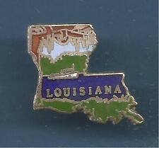 Pin's pin USA PAYS D'AMERIQUE LOUISIANA (ref 084)