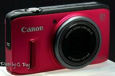 CANON SX260 HS Red Reconditioned Digital Camera-On a scale of 10 it's a 9.5