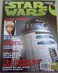 STAR WARS THE OFFICIAL MAGAZINE OCT/ NOV 1998 ISSUE NO16 COVER R2-D2