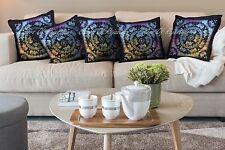 """Elephant Mandala Cushion Cover Throw Traditional Boho Pillow Case Home Decor 18"""""""