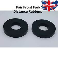 Motorbike Front Pair Fork Rubber Distance Large Spacer Suspension OD91xID40x15MM