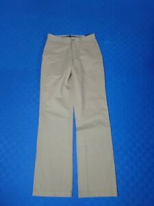 Tommy Hilfiger Golf Mens Beige Cotton Modern Comfort Chinos Trousers W 30 L 32