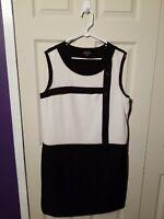 Black/White Dress Size 14