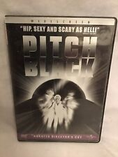 New listing Pitch Black Unrated Director's Cut Dvd-Nr!