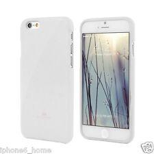 iPhone 6 6s Genuine Mercury Goospery Metallic White Jelly Case Cover Post
