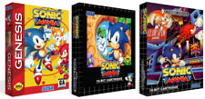 Sonic Mania Sega Mega Drive Replacement Game Box Case + Cover Art Work - No Game
