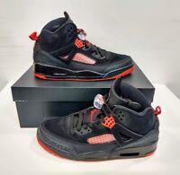"NIB Men's 11 Air Jordan Spizike ""BRED"" Black Anthracite Red 315371-006 Brooklyn"