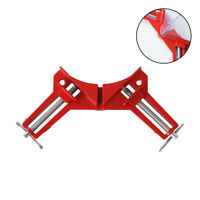 45 90 Degree Corner Right Angle Clamp Picture Frame Woodworking Holder Hand Tool