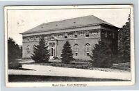East Northfield MA Seminary Olivia Music Hall Vintage Massachusetts Postcard A78