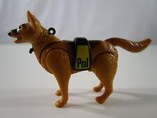"""PLAYMOBIL- """"DIFICILISIMO PERRO DE POLICIA PASTOR ALEMAN ESPECIAL ANTIGU"""" - LUJO!"""