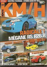 KM/H 37 MATRA MURENA S 309 GTI 16 MEGANE R26.R AUDI TT QUATTRO SPORT FIAT COUP