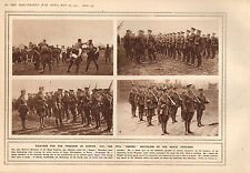 1915 WWI PRINT ~ THE 17th EMPIRE BATTALION OF THE ROYAL FUSILIERS
