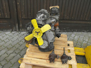 Fiat Polski 125P Motor Vergaser Lichtmaschine Bastler Scheunenfund Oldtimer
