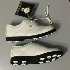 Dunlop Women's Golf  W2500C White Shoes Size 5.5 NWOB