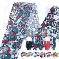 10Sheet/Pack Nail Foils Bohemian Series Nail Art Transfer Sticker Decorations