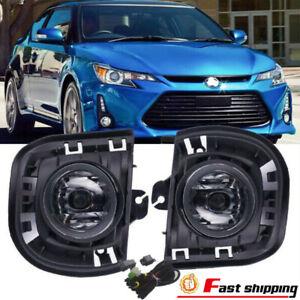 Fits 2014-2016 Toyota Scion TC/ZELAS Halogen Fog Lights Lamps w/Switch&Harness